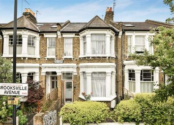 Thumbnail 3 bed terraced house for sale in Brooksville Avenue, Queens Park, London
