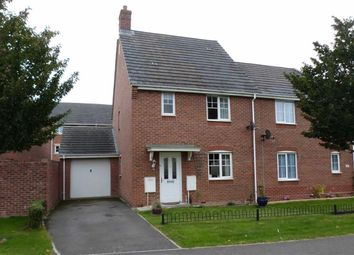 Thumbnail 3 bed semi-detached house to rent in Dragonfly Road, Swindon