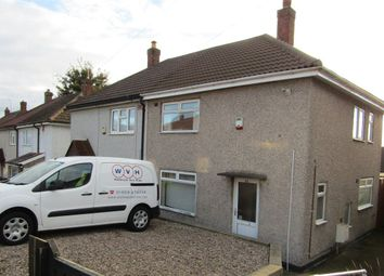Thumbnail 2 bed semi-detached house to rent in Kaye Road, Mansfield