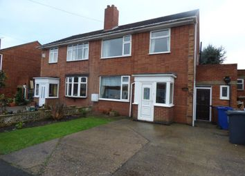 Thumbnail 3 bed property to rent in St. Aidens Close, Horninglow, Burton-On-Trent
