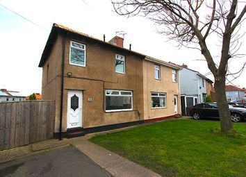 Thumbnail 3 bed semi-detached house to rent in Park Crescent, Shiremoor