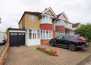 Thumbnail 3 bed semi-detached house to rent in Rushout Avenue, Kenton, Harrow