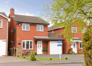 Thumbnail 3 bed detached house for sale in Fairways Drive, Madeley, Telford