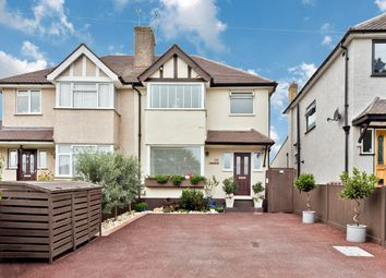 Thumbnail 3 bed semi-detached house for sale in Shawford Road, West Ewell