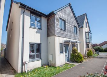 Thumbnail 3 bedroom end terrace house for sale in Cobham Close, Crownhill, Plymouth