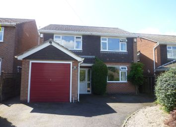 Thumbnail 4 bedroom detached house to rent in Brick Kiln Lane, Shepshed, Loughborough