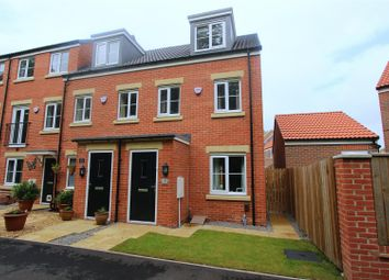Thumbnail 3 bed town house for sale in Peverell Walk, Darlington
