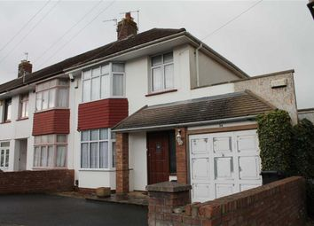 Thumbnail 3 bedroom end terrace house for sale in Dursley Road, Shirehampton, Bristol