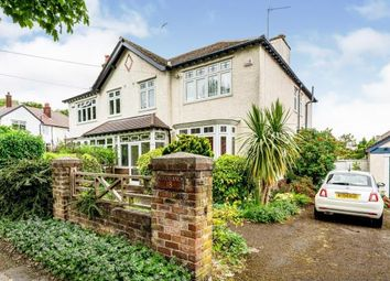 Thumbnail 4 bed semi-detached house for sale in Heswall Avenue, Wirral, Merseyside