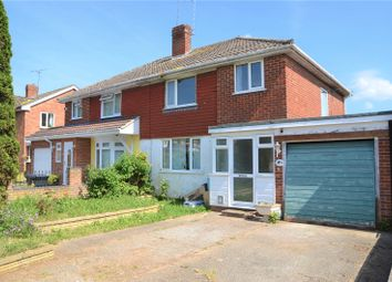 Thumbnail 3 bed semi-detached house for sale in Fullbrook Crescent, Tilehurst, Reading, Berkshire