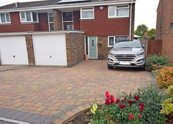 Thumbnail 3 bedroom semi-detached house for sale in Tyler Drive, Rainham