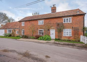 Thumbnail 4 bed detached house for sale in The Street, Brundish, Woodbridge