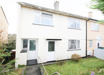Thumbnail Semi-detached house for sale in Woodstock Gardens, St. Budeaux, Plymouth
