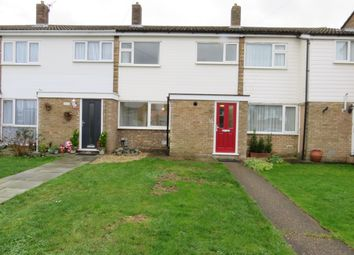 Thumbnail 3 bed terraced house to rent in Melbourne Close, Stotfold, Hitchin