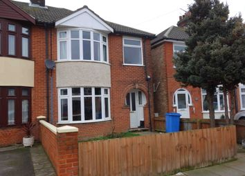Thumbnail 3 bedroom semi-detached house to rent in Dales View Road, Ipswich, Suffolk