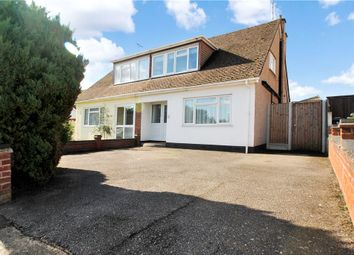 Thumbnail 3 bed semi-detached house for sale in Wyburns Avenue, Rayleigh, Essex