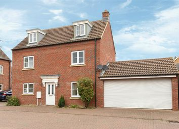 Thumbnail 4 bed detached house for sale in Grenadier Close, Bedford