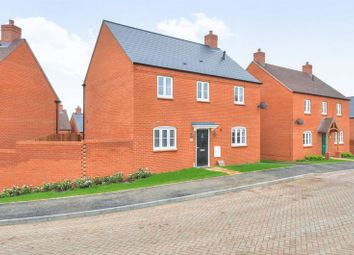Thumbnail 4 bed detached house for sale in Quarry View, Roade, Northampton
