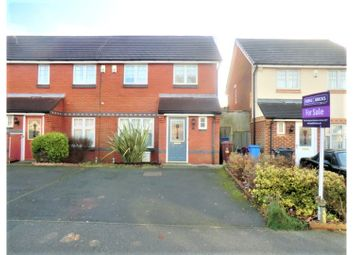 Thumbnail 3 bed end terrace house for sale in Sherwood Row, Liverpool
