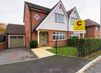 Thumbnail 3 bed semi-detached house for sale in Speedwell Close, Newton Abbot