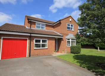 Thumbnail 4 bed detached house for sale in Lewis Road, Northallerton