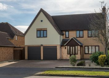 Thumbnail 5 bed detached house for sale in Forest, Wardens Walk, Leicester Forest East, Leicester