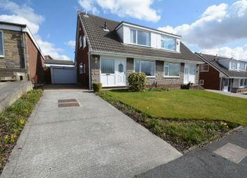 Thumbnail 3 bed semi-detached house for sale in Lydgate, Briercliffe, Burnley