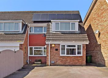 Thumbnail 3 bed semi-detached house for sale in Devonshire Way, Fareham, Hampshire