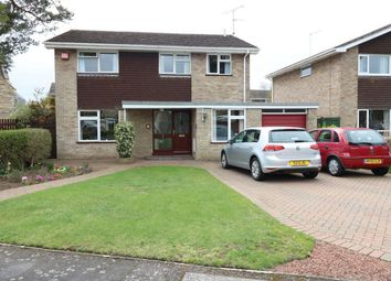 Thumbnail 4 bed detached house for sale in Brownlow Drive, Deeping St James, Market Deeping, Lincolnshire