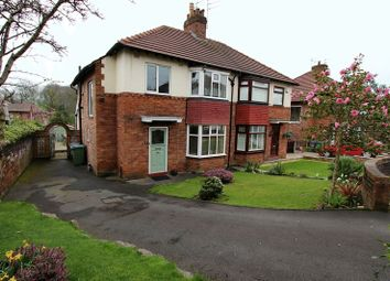 Thumbnail 3 bedroom semi-detached house for sale in Ladythorne Avenue, Prestwich, Manchester