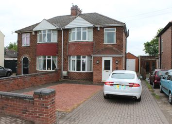 Thumbnail 3 bed semi-detached house to rent in Station Road, North Hykeham, Lincoln