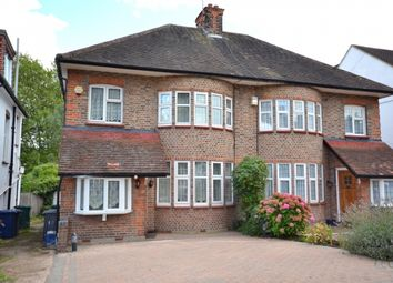 Thumbnail 3 bed semi-detached house to rent in Walmington Fold, West Finchley, Finchley, London