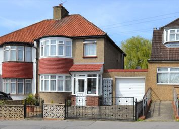 Thumbnail 3 bed semi-detached house for sale in Croft Road, Norbury