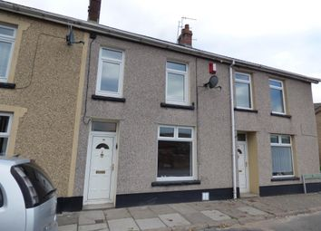 Thumbnail 3 bed terraced house to rent in Queens Crescent, Rhymney, Tredegar