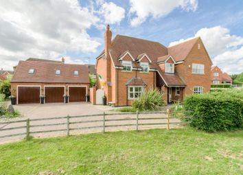Thumbnail 5 bed detached house for sale in Oxfield Park Drive, Old Stratford, Milton Keynes, Northamptonshire