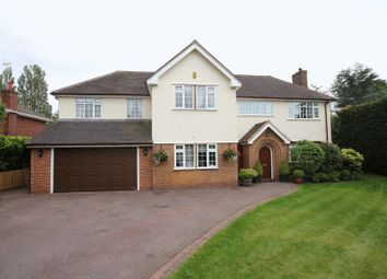 Thumbnail 5 bedroom detached house for sale in Croft Drive East, Caldy, Wirral