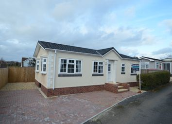 Thumbnail 2 bed mobile/park home for sale in Nelson Way, Ringswell Park, Exeter