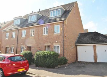 Thumbnail 3 bed town house for sale in Bennington Drive, Borehamwood, Herts