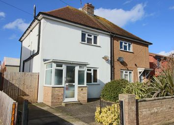 Thumbnail 3 bed semi-detached house for sale in Martello Road, Eastbourne