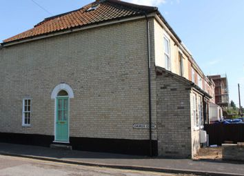 Thumbnail 3 bedroom end terrace house for sale in Church Close, Norwich