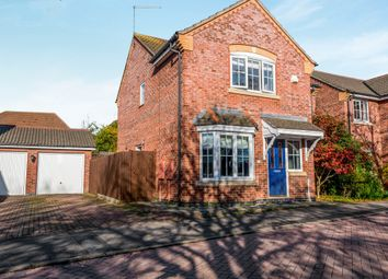 Thumbnail 4 bed detached house for sale in Volunteer Close, Wootton, Northampton