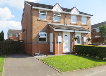 Thumbnail 2 bed semi-detached house for sale in Denehurst Way, Nuneaton