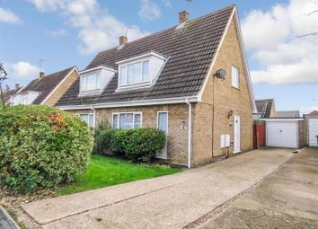 Thumbnail 3 bedroom semi-detached house for sale in Newton Road, Sawtry, Huntingdon, Cambridgeshire