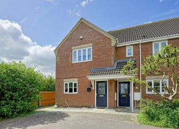 Thumbnail 3 bed end terrace house for sale in Fox Hole Close, Warboys, Huntingdon, Cambridgeshire.