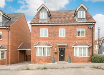 Thumbnail 5 bed detached house for sale in Foxley Place, Loughton, Milton Keynes