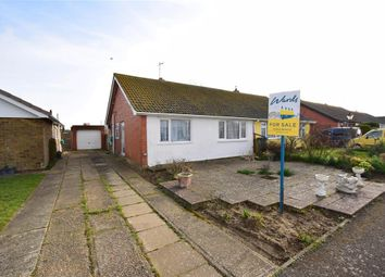 Thumbnail Semi-detached bungalow for sale in Brockman Crescent, Dymchurch, Romney Marsh, Kent