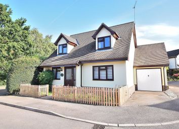 Thumbnail 3 bed detached house for sale in Wetherly Close, Harlow