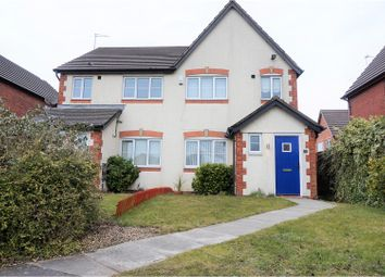 Thumbnail 3 bed semi-detached house for sale in Curran Way, Liverpool