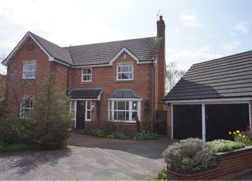 Thumbnail 4 bed detached house for sale in Wordsworth Court, Sleaford