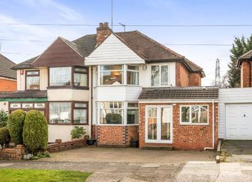 Thumbnail 3 bed semi-detached house for sale in Osmaston Road, Harborne, Birmingham, West Midlands